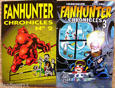 Lote de 2 Comics de Fan Hunter Chronicles