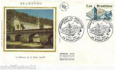 1983 - ENVELOPPE SOIE // FDC 1°JOUR - BRANTOME - PERIGORD - TIMBRE Yt.2253