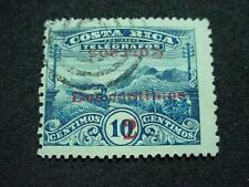 NobleSpirit } Costa Rica 94b Inverted Ovpt Used Unpriced by Scott, Mint =$2,000
