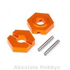 Hot Bodies Aluminum Hex Hubs 12mm Front (2pcs) - HBS112744