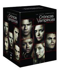 CRONICAS VAMPIRICAS SAGA COMPLETA 1 2 3 4 5 6 7 8  ESPAÑOL DVD NUEVO CASTELLANO