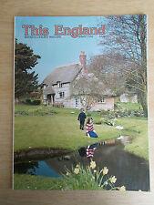 This England Vol 29 #1~Harry Roy~King George V~Helmsley~David Shepherd~St George