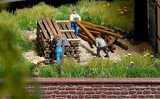 Busch Wooden HO Gauge Model Railway Scenery & Trees