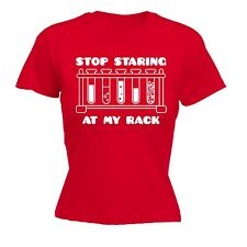 Stop Staring At My Rack WOMENS T-SHIRT mothers day chemistry college university