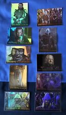 Lord Of The Rings ROTK Prismatic Foil Chase Card Set 1 ~ 10 [Complete]