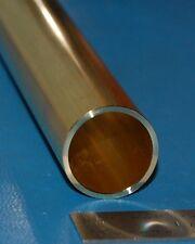 """Brass 260 Tube, 1.000"""" (25.4mm) OD x .065"""" (1.7mm) Wall x 6"""""""