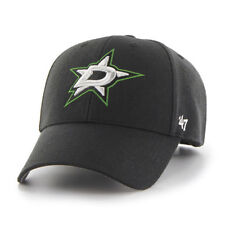 NHL Dallas Stars Cap Basecap 47Brand adjustable Baseballcap MVP Wool black