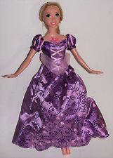 Disney Princess Doll Rapunzel Tangled Singing Musical Light Up Sing Glow Barbie