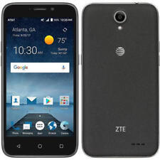 New ZTE Maven 3 z835 AT&T Unlocked 4G LTE 8GB Android Smartphone Black