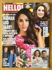HELLO! MAGAZINE - #1520 - 19 FEBRUARY 2018 - MEGHAN & HARRY - EUGENIE & JACK