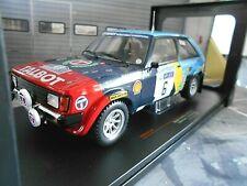TALBOT Sunbeam Lotus Gr.2 Rallye GB RAC 1982 #6 Blomqvist Shell IXO RAR 1:18