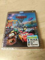 Cars 2 (Blu-ray/DVD, 2011, 5-Disc Set, Includes Digital Copy 3D)