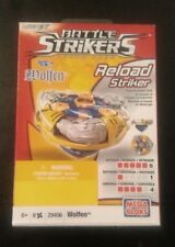 Mega Bloks Magnext Battle Strikers Turbo Tops reload striker: Wolfen #29456