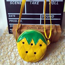Cartoon Fruit Bag For Kids Mini Coin Wallet Pouch Money Purse Crossbody Bag BS