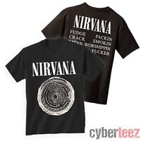 NIRVANA T-Shirt Vestibule Brand New Authentic Rock Tee S M L XL