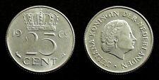 Netherlands - Juliana 25 Cent 1969 (vis)