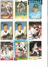 18 CARD MIKE LaCOSS BASEBALL CARD LOT           96