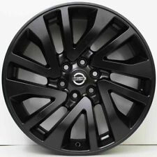 "Genuine NISSAN NAVARA BLACK 2019 ST-X D23 R18"" X 1 WHEEL ONLY NP300 NEW"