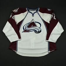 2008-09 Jesse Boulerice Colorado Avalanche Game Issued Reebok Hockey Jersey NHL