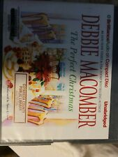 THE PERFECT CHRISTMAS Debbie Macomber  Unabridged CD Ex-Library Brillance Audio