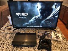 Sony PlayStation 3 PS3 Super Slim Black 250GB Console CECH-4001B TESTED