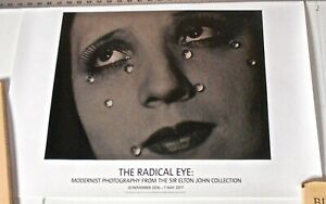Man Ray -Glass Tears Poster for Tate Exhibition The Radical Eye-