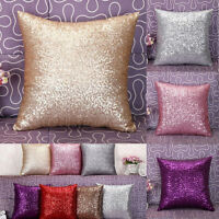 BlingBling Glitter Sequins Throw Pillow Case Cafe Home Shop Decor Cushion Covers