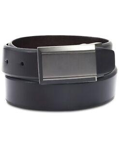Kenneth Cole Reaction Men's Beveled Reversible Belt Black/Brown Size 40