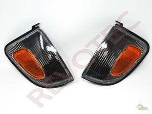 Black Corner Signal Lights For Toyota 98-00 Tacoma 2WD