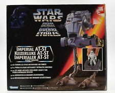 Star Wars Power of The Force Euro - Imperial AT-ST Scout Walker Vehicle