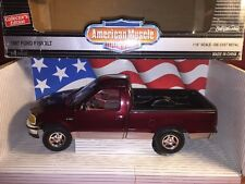 ERTL American Muscle 1997 Ford F150 XLT Burgundy 1:18 Scale Die Cast