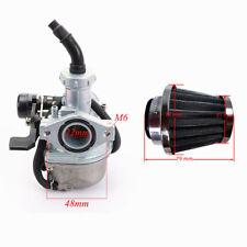 PZ22 Carburetor Carby 110cc/100cc/88cc/70cc/50cc ATVs +38mm Air Filter Brand New
