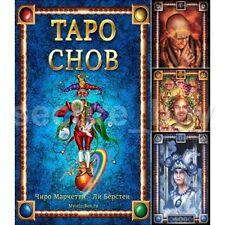 Tarot of Dreams Cards Deck by Ciro Marchetti New 79 + book in Russian HTF