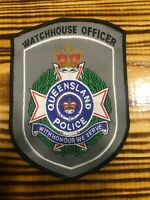 AUSTRALIA PATCH POLICE QUEENSLAND WATCHHOUSE OFFICER - ORIGINAL!