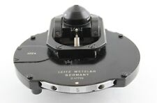 Leitz Microscope Phase Contrast 402a 090 As Dark Field Condenser