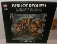 SLS 982 Berlioz Requiem CBSO & Chorus Louis Fremaux HP TAS 2LP Box Set