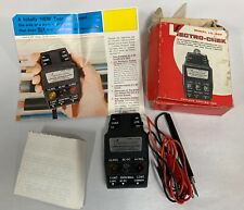 Vintage Lumidor Products Lectro-Chek Model LC-300 Electric Tester Tool (A4)