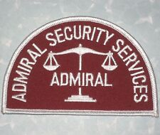 Admiral Security Services Patch