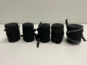 5ea Pairs of Cloth Weightlifting Wrist Wraps