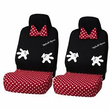 Disney Minnie Car Seat Cover front two BK 2000-12 Japan new .