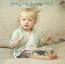 Baby Cashmerino Book 2 Knitting Patterns Debbie Bliss Cardigan Bunny Socks Hat+