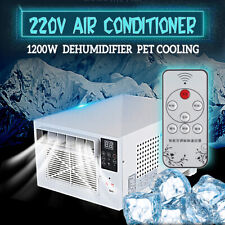 220V 1200W Mini USB Refrigerated Air Conditioner Cooler Pet Cooling Dehumidifier