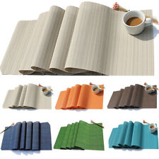 Placemat Heat Insulation Non-Slip Pads Table Runner Tablecloth Hotel Table Decor