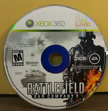 BATTLEFIELD BAD COMPANY 2 (XBOX 360) USED AND REFURBISHED (DISC ONLY) #10980