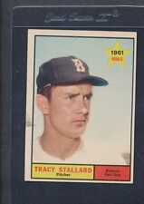 1961 Topps #081 Tracy Stallard Red Sox EX *1247