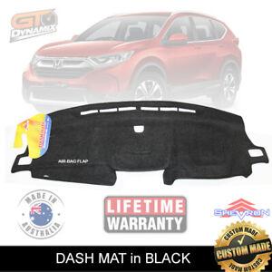 DASH MAT Honda CR-V RW Suits CRV VTi-S VTi-L VTi-S VTi-LX 6/2017-21 BLACK DM1484