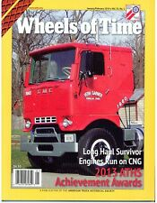 CNG Truck engines, 1964 GMC Crackerbox, 1980 Kenworth W900A, 2013 ATHS Awards