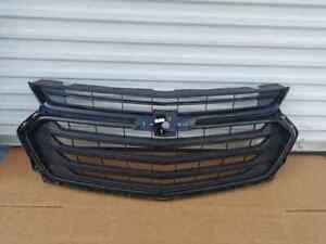 2018 2019 2020 Chevrolet Traverse Front Upper Grille Black Chrome OEM 84297944