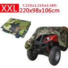 XXL 190T Waterproof Anti-UV Coat ATV Camo Quad Cover Fit Honda Yamaha Suzuki