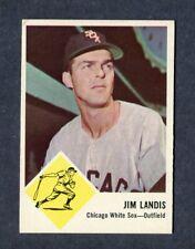 1963 FLEER BASEBALL #10 JIM LANDIS CHICAGO WHITE SOX OUTFIELDER MLB VINTAGE CARD
